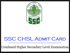 ssc chsl admit card 2019 2020