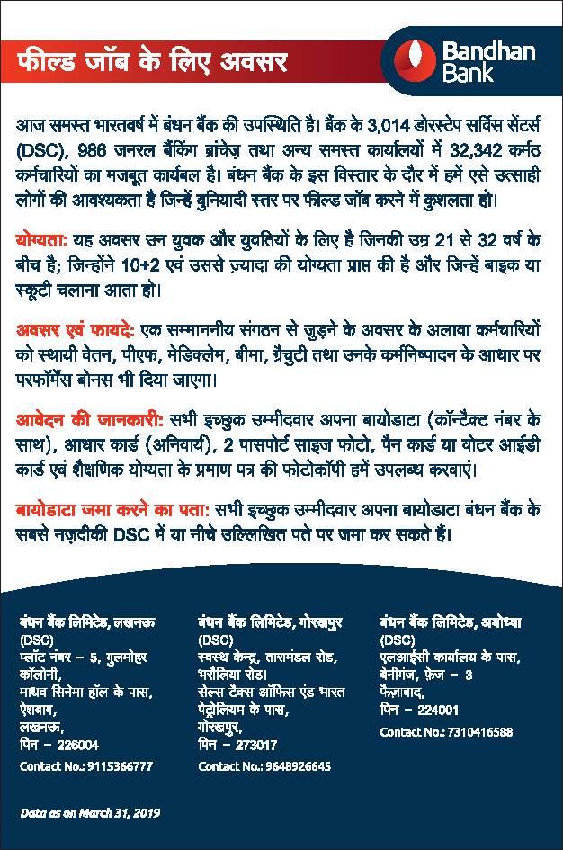 online bank recruitment form 2014